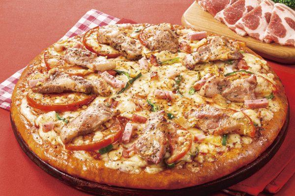 房総マーガレットポークのジューシーピザ