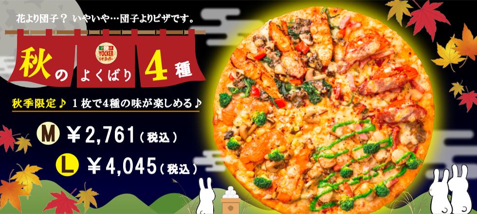 2021 秋4種ピザ バナーPC