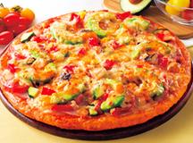 たっぷり野菜とアボカドのピザサムネイル