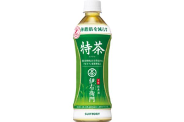 伊右衛門特茶(500ml) ¥170(税込: ¥184)