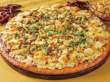 マーガレットポークのピリ辛ラー油ピザサムネイル